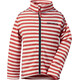 Didriksons 1913 Monte Printed Jacket Kids Paprika simple stripe